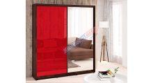 Шкаф-купе 0,90м Цветное Стекло / Зеркало - Мебель для дома