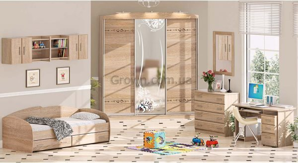 Детская комната ДЧ-4104 - 1