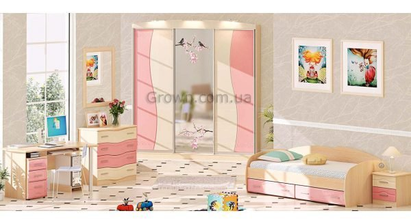 Детская комната ДЧ-4107 - 1