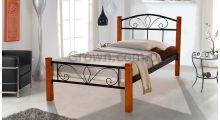 Кровать металлическая Релакс Вуд Мини - Детская мебель