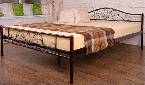 Кровать металлическая Релакс - 1