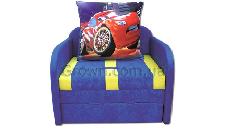 Детский диван Тачка - 1