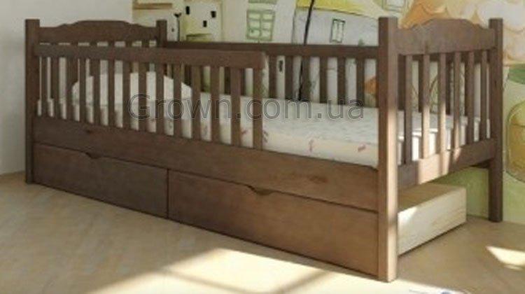 Кровать Юниор с двумя заборами - 1