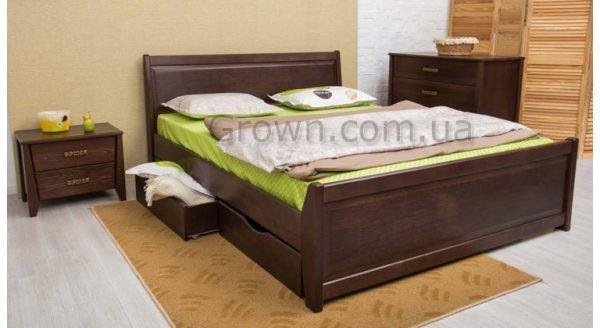 Кровать Сити с ящиками - 1
