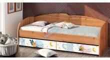 Кровать К-117 фотопечать - Детские кровати