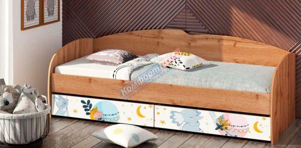Кровать К-117 фотопечать - 1