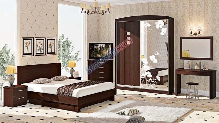 Спальня СП-4536 Хай-тек - 1