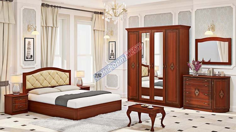 Спальня СП-4549 Инкрустация - 1