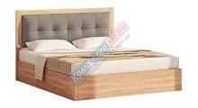 Кровать 1600 «Мягкое изголовье 2» с подъемным механизмом