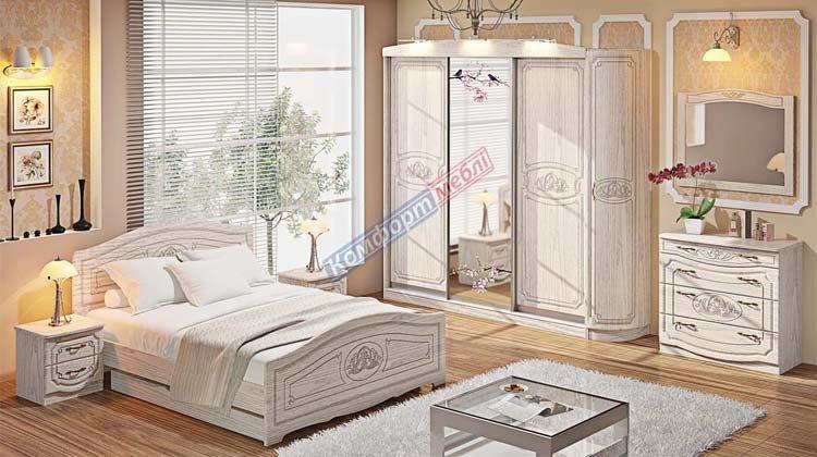 Спальня СП-4555 Классика - 1