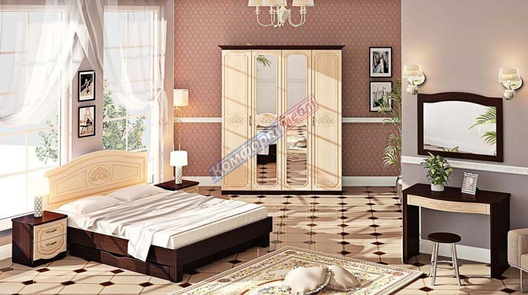 Спальня СП-4556 Классика - 1