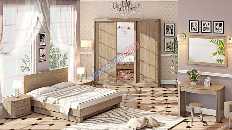 Спальня СП-4570 Де Люкс - 1