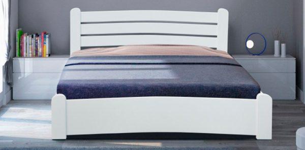 Кровать Сабрина белая - 1