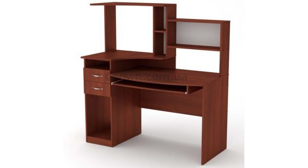 Стол компьютерный Комфорт-4 - Яблоня