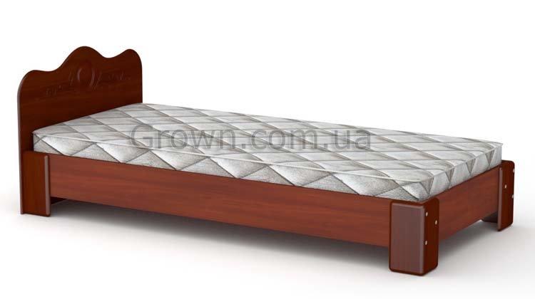 Кровать-100 МДФ - Яблоня