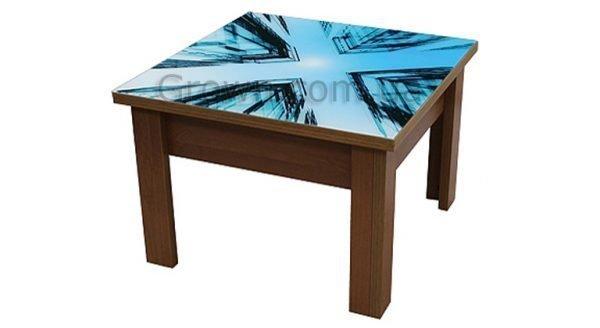 Стол-трансформер с декоративной столешницей - 1