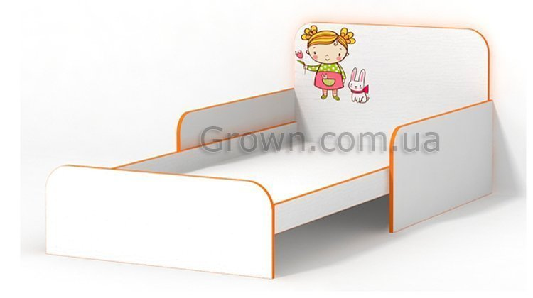 Кровать Мандаринка с бортиками - 1