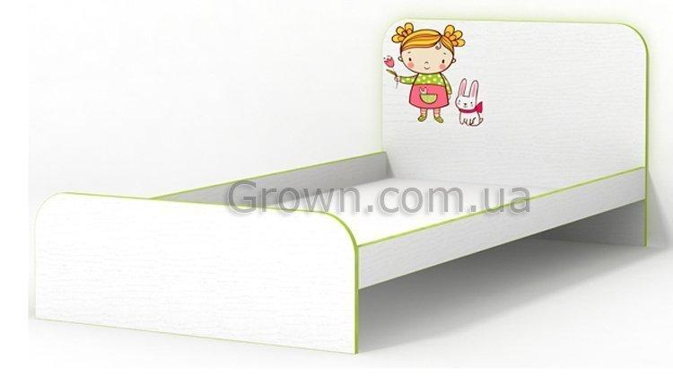 Кровать Яблочко без бортика - 1