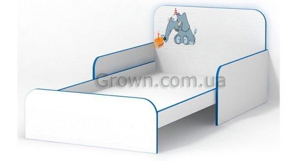 Кровать Слоник с бортиками - 1