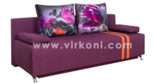 Диван «Шанхай» Люкс 17 + Пурпур Флавер - Мебель со склада