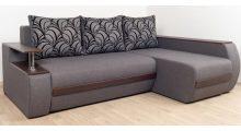 Угловой диван «Токио» Люкс 6 + Маура Грей - Мебель со склада